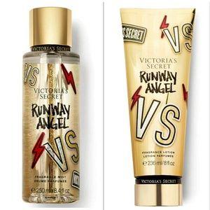 Victoria's Secret Runway Angel mist and lotion